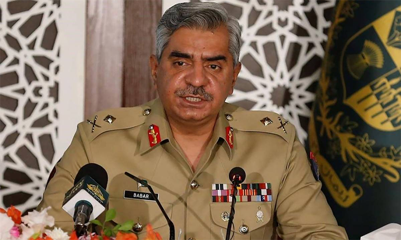 ڈی جی آئی ایس پی آر نے کہا کہ افغانستان میں تشدد کے نتیجے میں بلوچستان میں بھی کچھ عناصر کو تقویت مل سکتی ہے— فائل فوٹو: اے ایف پی