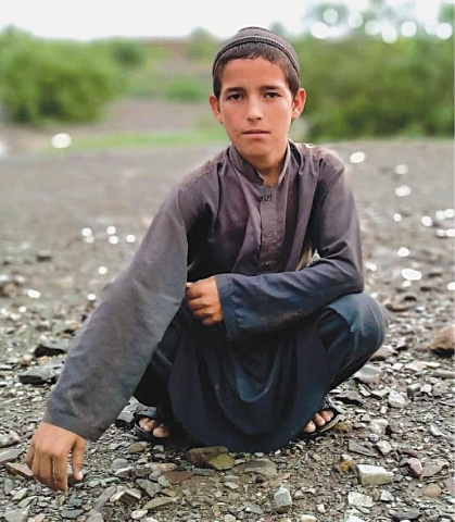 Twelve-year-old Ismatullah who was brutally killed in Zhob, Balochistan in January 2021