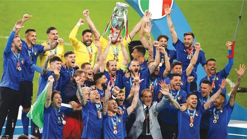 Italy, the European 2020 champions