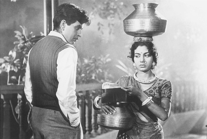 Even with his back to the camera he could deliver a powerful performance as in this scene from Amar (1954)