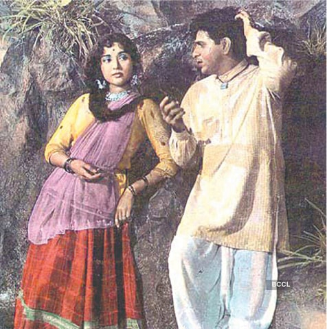 One of his best performances was in Ganga Jamuna (1961)