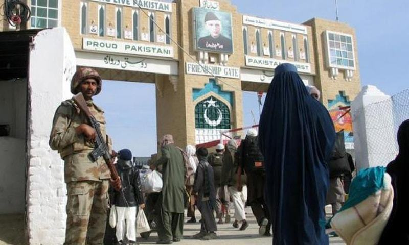 Security officials deployed at the border crossing point were strictly checking documents of the Afghans. — Reuters/File