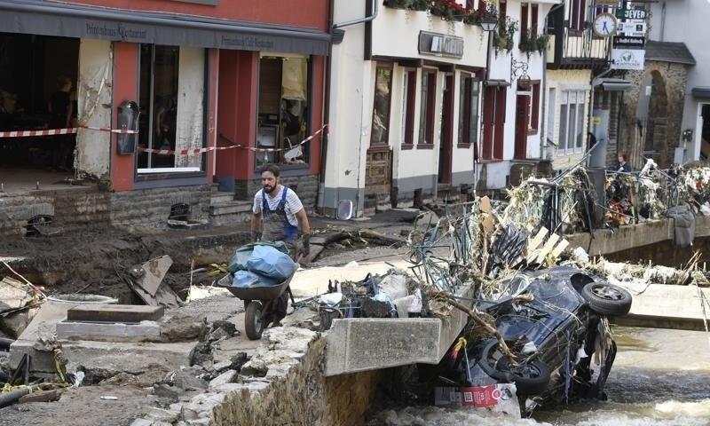 یورپ میں سیلاب سے ہلاکتوں کی تعداد 180 تک پہنچ گئی