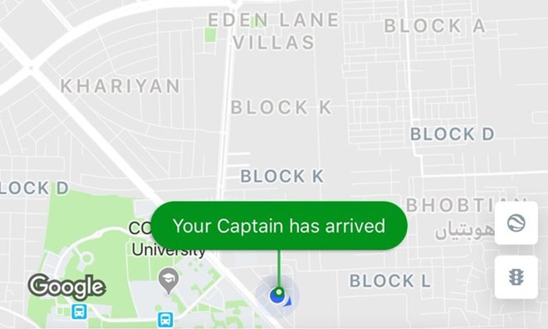 """The petitioner states that Careem had given the title of """"captain"""" to its drivers, thus causing him """"disgrace and humiliation"""". — Photo via Twitter"""