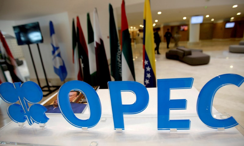 The OPEC logo pictured ahead of an informal meeting between members of the Organisation of the Petroleum Exporting Countries. — Reuters/File