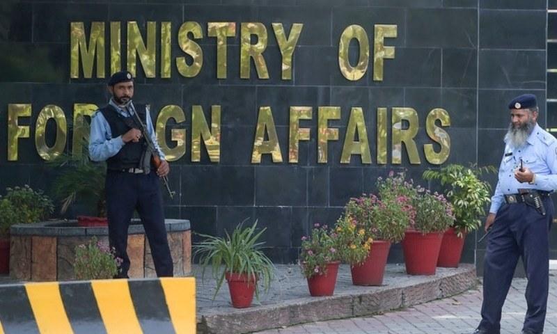 Pakistan's ambassador to Kabul Mansoor Ahmad Khan arrived in Islamabad on Sunday evening. — AFP/File