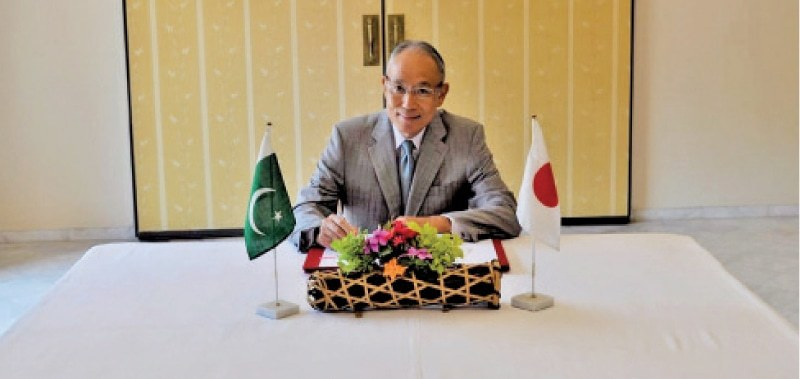 Japanese Ambassador Matsuda Kuninori, citing his optimism on the new cooperation programmes, said that these projects with their successful implementation would greatly benefit the government and people of Pakistan. — Dawn/File