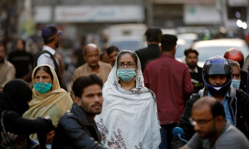 According to the health department data, a total of 44,777 tests were conducted in Karachi over the past seven days. Of them, 7,580 came positive. — Reuters/File