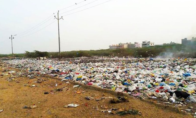 Under the agreement the Chinese firm would install a 40MW waste-to-energy plant and also establish another plant to produce solid waste management-related machinery in Karachi. — Dawn/File
