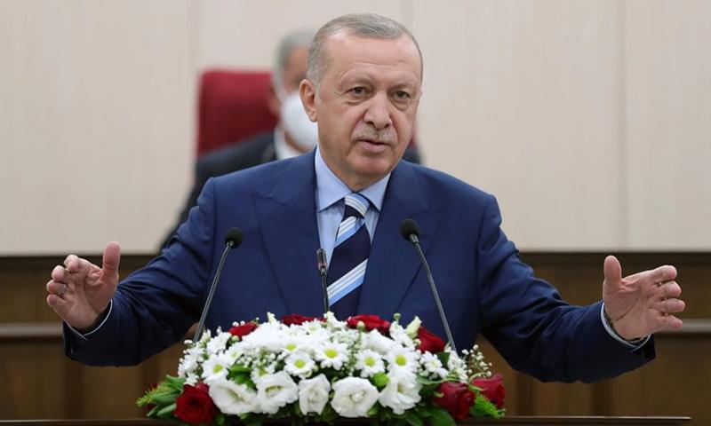 ترک صدر کا کابل ایئرپورٹ مشن کی حمایت کیلئے امریکی امداد کی فراہمی کا مطالبہ