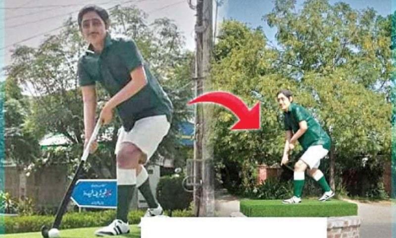 بہاولپور: اولمپیئن سمیع للہ کے مجسمے سے ہاکی چوری کرنے والا ملزم گرفتار