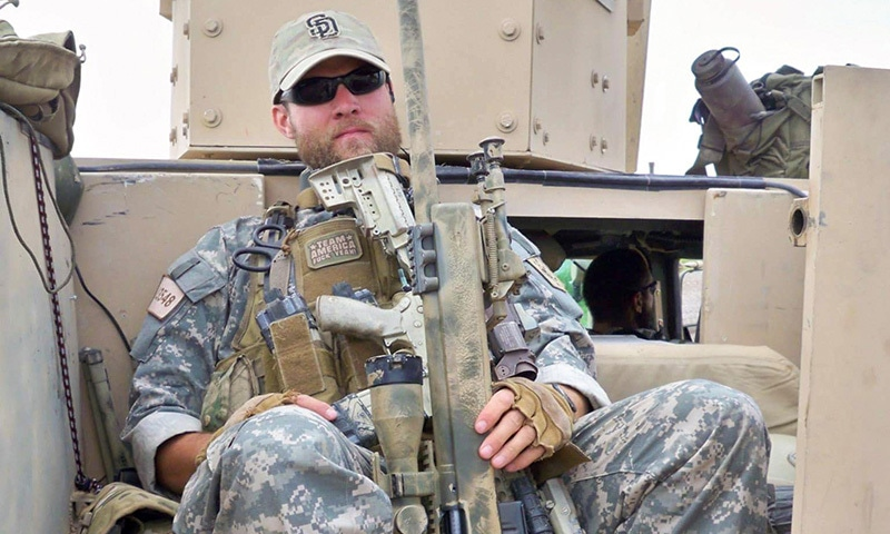 A US special forces veteran Jason Lilley is shown during his deployment in Farah, Afghanistan in 2009. — Reuters/File