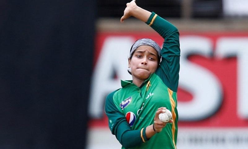 سیریزکے دوران فاطمہ کی جانب سے بہترین کارکردگی کا مظاہرہ کیا گیا— فوٹو: پی سی بی
