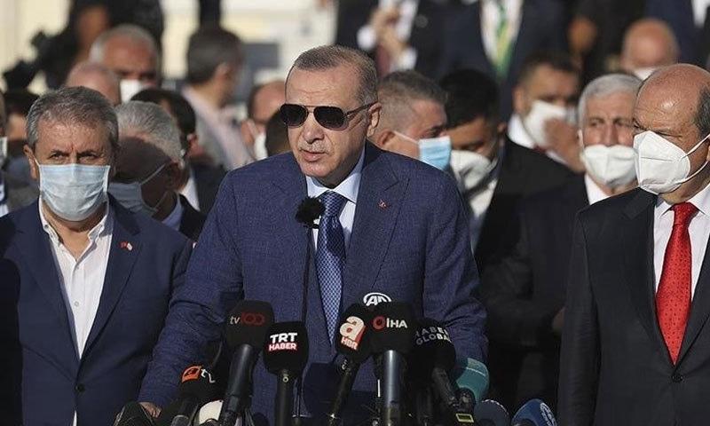 ترکی افغان امن عمل میں طالبان کے ساتھ مذاکرات کیلئے تیار ہے، رجب اردوان