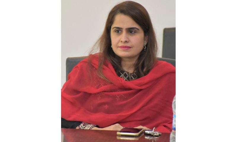 Dr Saima Yasmeen. — Photo courtesy UET website