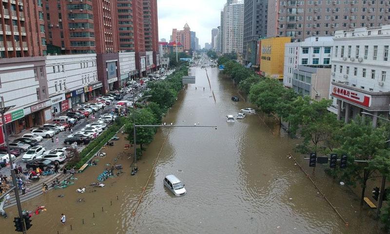 چین میں بدتریں بارشیں اور سیلاب، مختلف واقعات میں 33 افراد ہلاک