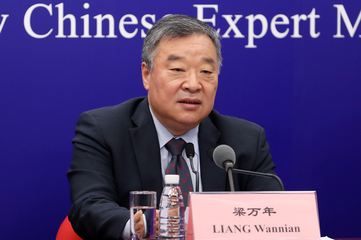 Liang Wannian, a Tsinghua University professor who heads the Chinese team of the joint mission. — Photo provided to China Daily