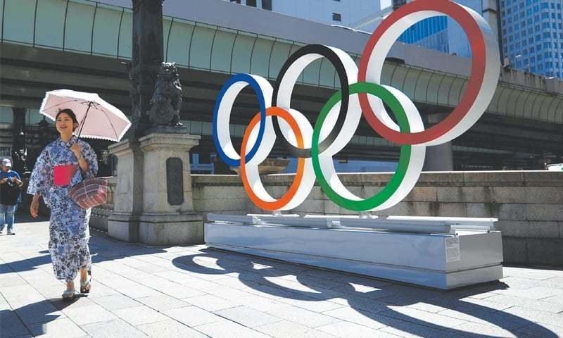 'خاموش' تقریب، 'خالی' اسٹیڈیم کے ساتھ ٹوکیو اولمپکس کا آغاز