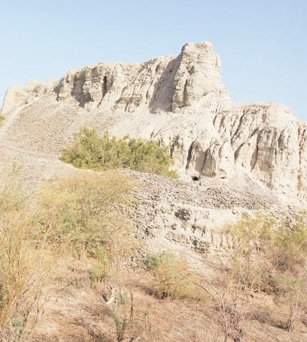 The current state of Miri Qalat in Turbat, the headquarters of Kech district in Makran.