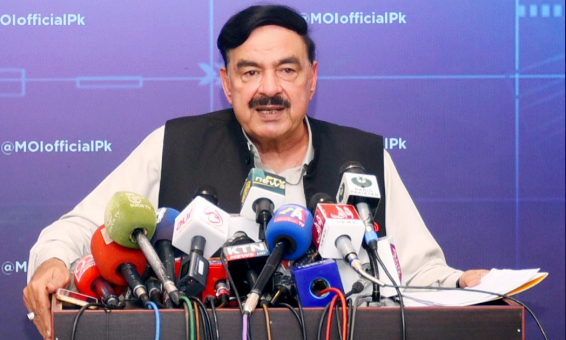 Interior Minister Sheikh Rashid Ahmed said the situation not only demanded containment of influx of refugees from Afghanistan but also entry of armed army personnel and militants into Pakistan. — APP/File