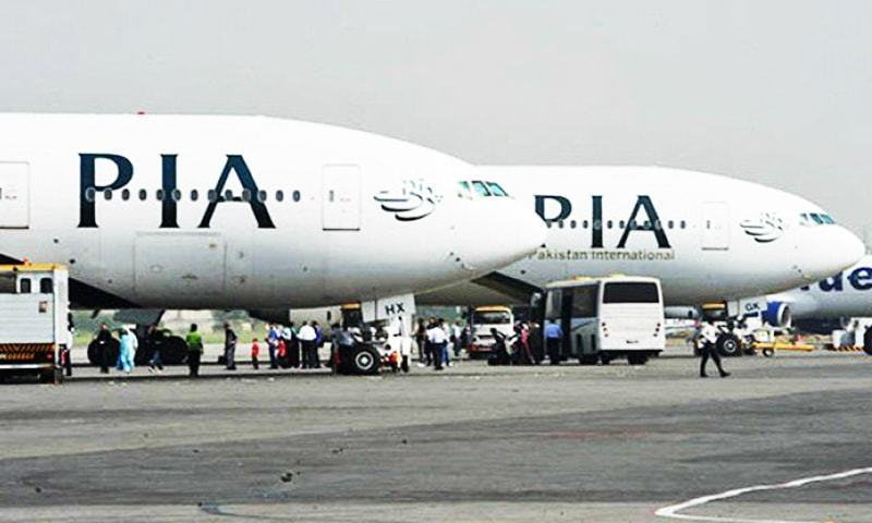 A senior PIA official said that the revenue loss was around Rs17 billion during the one-year period. — AFP/File