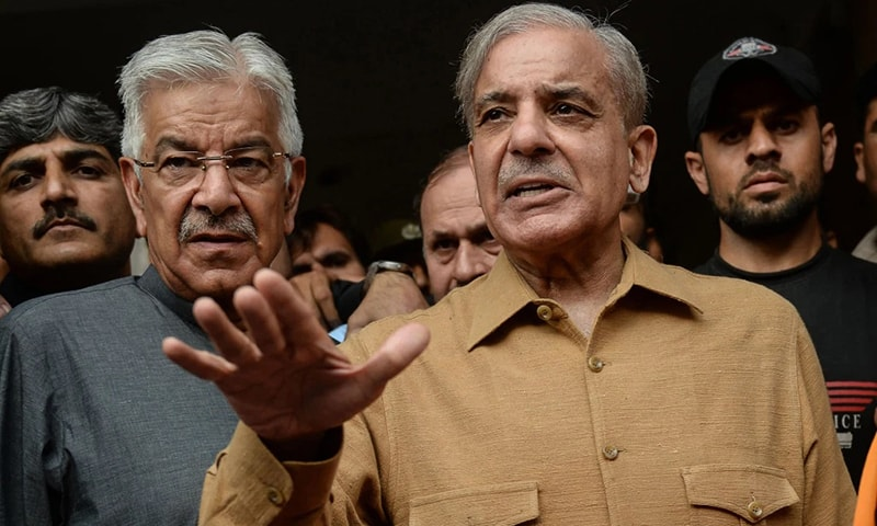 Shehbaz Sharif says imposing a solution on Kashmiris without their consent is tantamount to helping India and betraying the Kashmir cause. — AFP/File