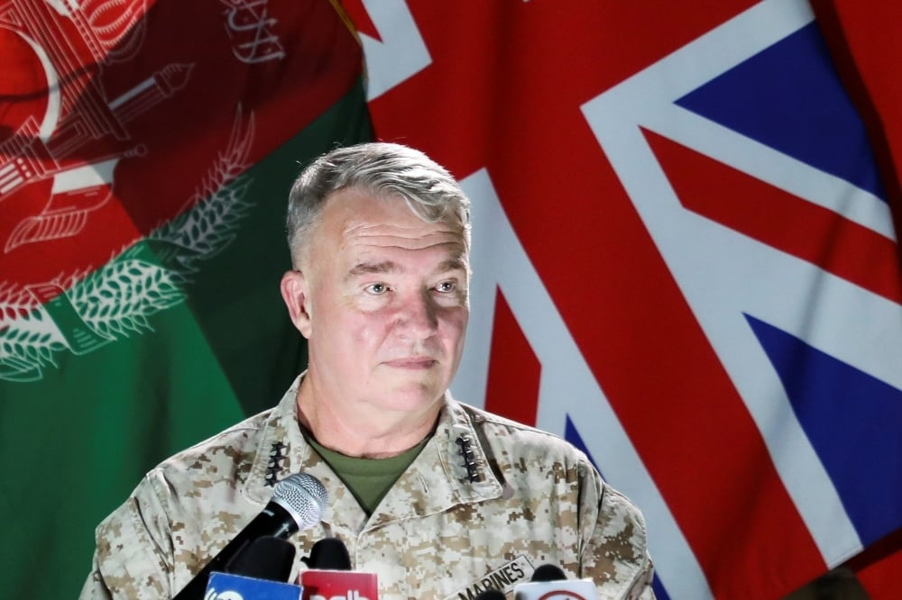 Air strikes in support of Afghan troops to go on: US general