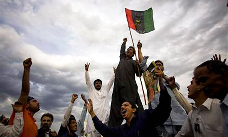According to unofficial results, PPP-AJK candidate Amir Abdul Ghaffar Lone won the election by bagging 2,165 votes against Saleem Butt of rival Pakistan Tehreek-i-Insaf-AJK who got 875 votes. — Dawn/File