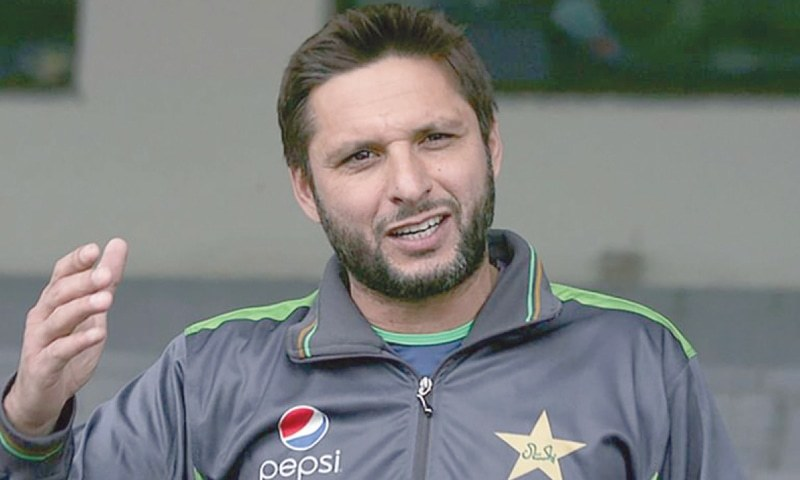 This file phot shows Shahid Afridi. — AP/file