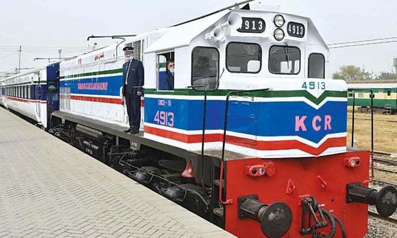فریٹ کوریڈور کی ریلوے فزیبلیٹی منصوبہ مکمل ہوچکی ہے۔— فائل فوٹو: وائٹ اسٹار