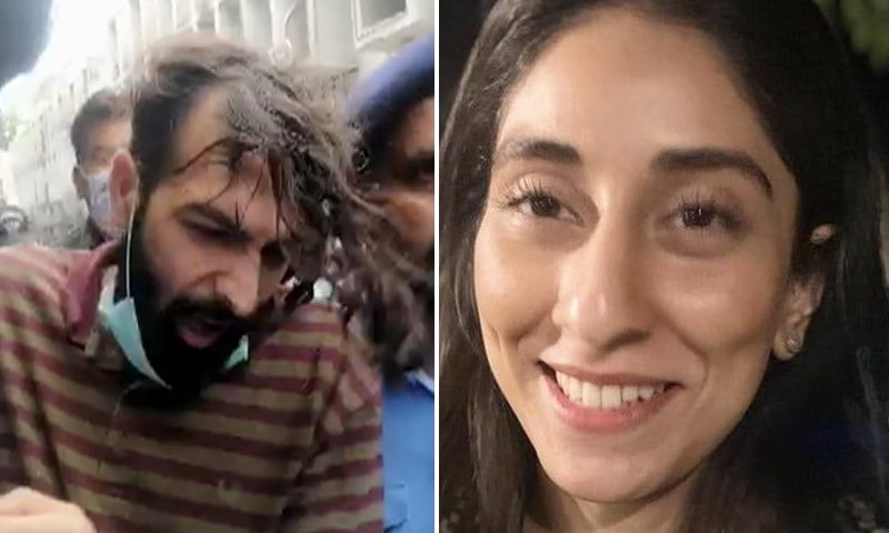 A combination photo of Zahir Jaffer (L) and Noor Mukadam (R). — DawnNewsTV/Change.org