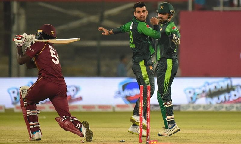 West Indies and Pakistan, the two supremely-talented Twenty20 teams, collide in a four-match series starting on Wednesday at Kensington Oval in Barbados. — PCB/File