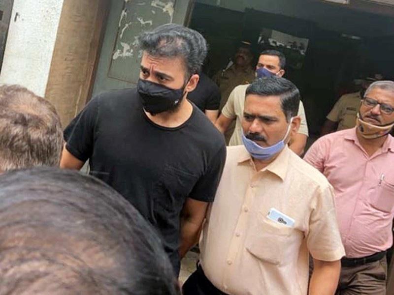 راج کندرا کو مزید 14 دن کے لیے جیل بھیج دیا گیا—فوٹو: ٹائمز آف انڈیا