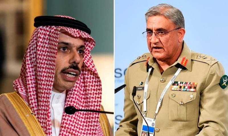 انہوں نے مزید کہا تھا کہ پاکستان اور سعودی عرب نے ایک دوسرے کے خطوں میں استحکام کو یقینی بنانے کے لیے مل کر کام کرنے پر اتفاق کیا ہے—فائل فوٹو: اے ایف پی، رائٹرز