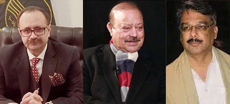 چوہدری انوار الحق, بیرسٹر سلطان محمود اور سردار تنویر الیاس