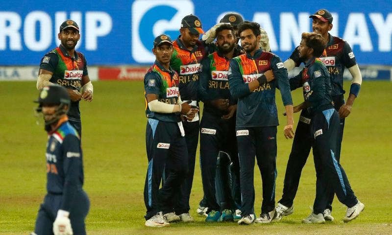 سری لنکا نے بھارت کو ٹی ٹوئنٹی سیریز میں شکست دے دی