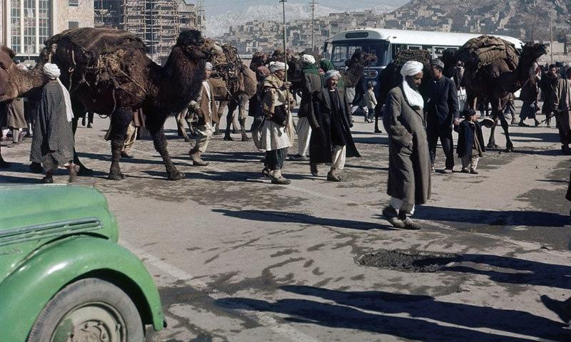 1961ء میں کابل کا ایک منظر—تصویر بشکریہ اے پی