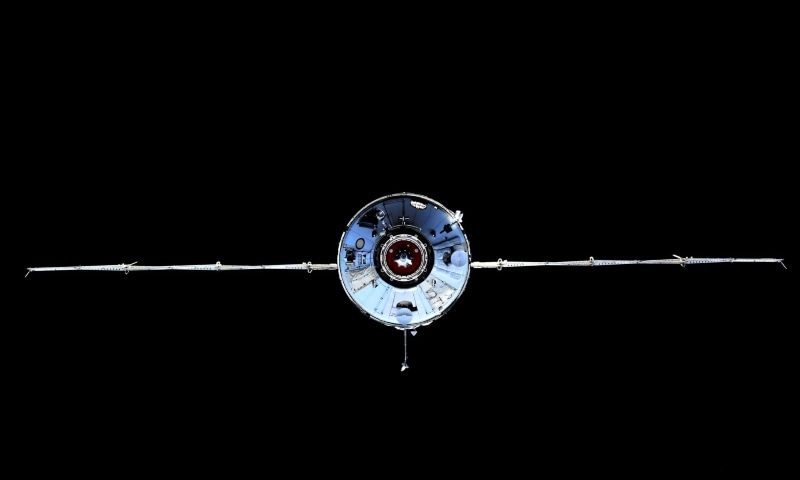 The Nauka Multipurpose Laboratory Module is seen during its docking to the International Space Station on July 29. — Reuters