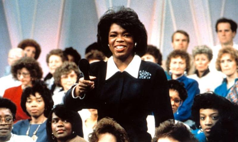 8 ستمبر 1986ء کو اس کے شو کی پہلی قسط نشر ہوئی تو وہ بہت مقبول ہوا—Everett Collection/REX