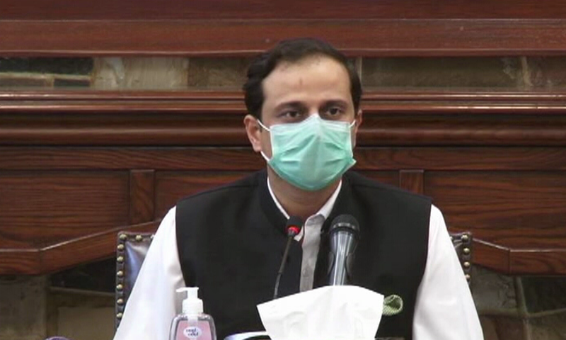Murtaza Wahab says we want people to come out of homes during this lockdown period only for vaccination purposes and no other activity whatsoever. — DawnNewsTV