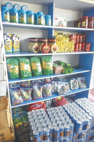 The stores selling Irani-made goods have an abundance of dairy products and confectionery | Fahim Siddiqi/ White Star