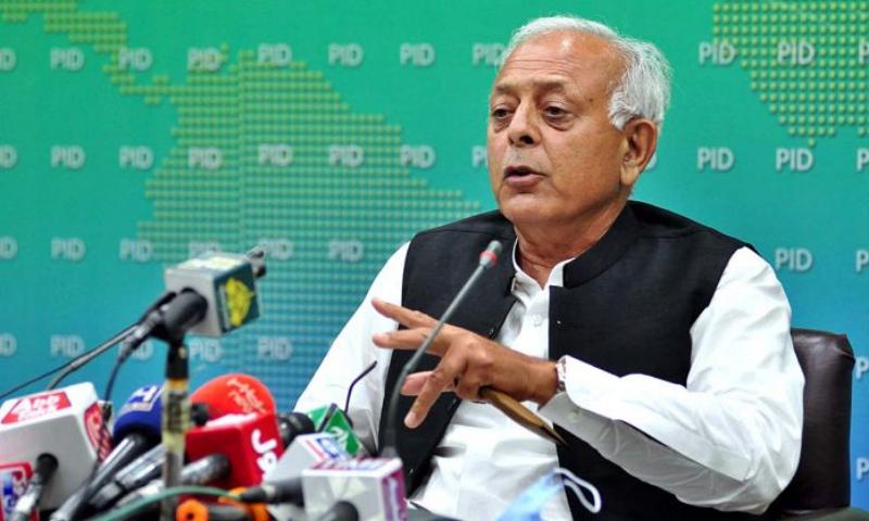 Aviation Minister Ghulam Sarwar Khan said Pakistan aviation industry was lucky as its losses during pandemic were much lower than other countries. — APP/File