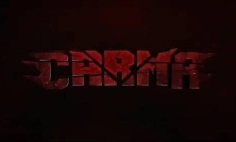 پاکستانی کرائم تھرلر فلم'کارما' کا ٹیزر ریلیز