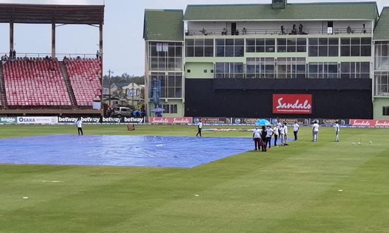 ویسٹ انڈیز میں بارش، تیسرا ٹی ٹوئنٹی بھی بغیر نتیجہ ختم