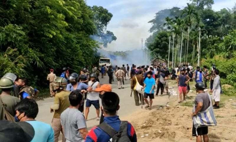 پُرتشدد جھڑپ کے بعد بھارتی ریاستیں سرحدی تنازع حل کرنے پر رضامند