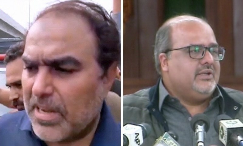 متنازع بیان: 'شہزاد اکبر عدالت میں پیش ہوکر نذیر چوہان کو معاف کریں'