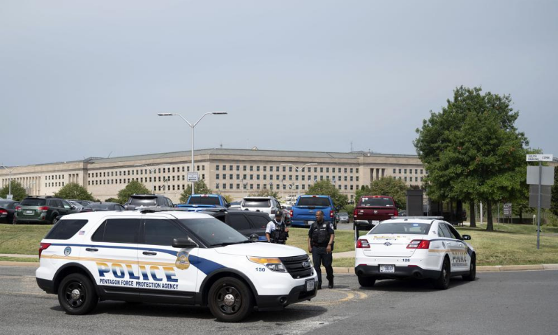 امریکا: میٹرو اسٹیشن کے قریب فائرنگ کے بعد پینٹاگون میں لاک ڈاؤن