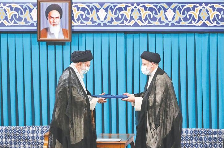 Ultraconservative Raisi takes oath as Iran's president - Newspaper -  DAWN.COM