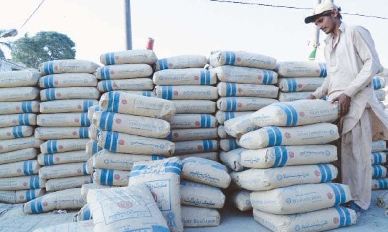 Rains and Eidul Azha holidays cast gloom on construction activities. — AFP/File