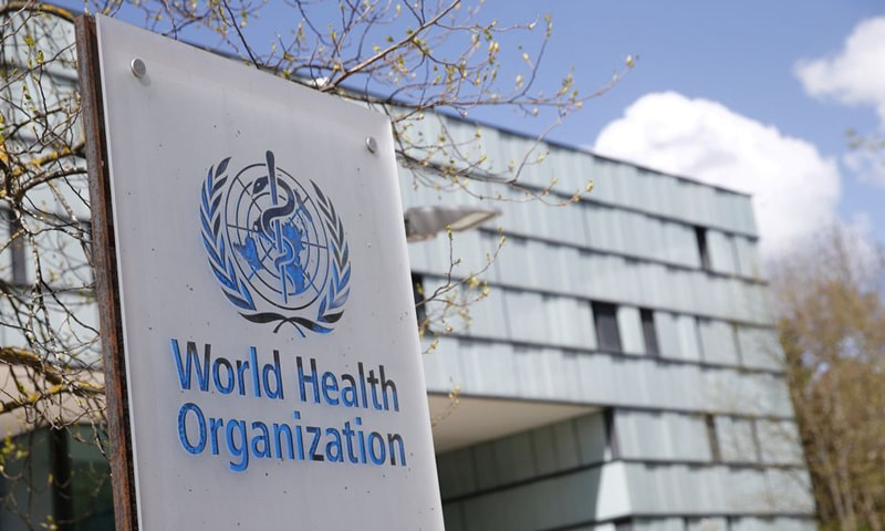 A logo is pictured outside a building of the World Health Organisation (WHO) during an executive board meeting on update on the Covid-19 outbreak in Geneva, Switzerland. — Reuters/File